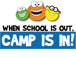 School is out Camp is in